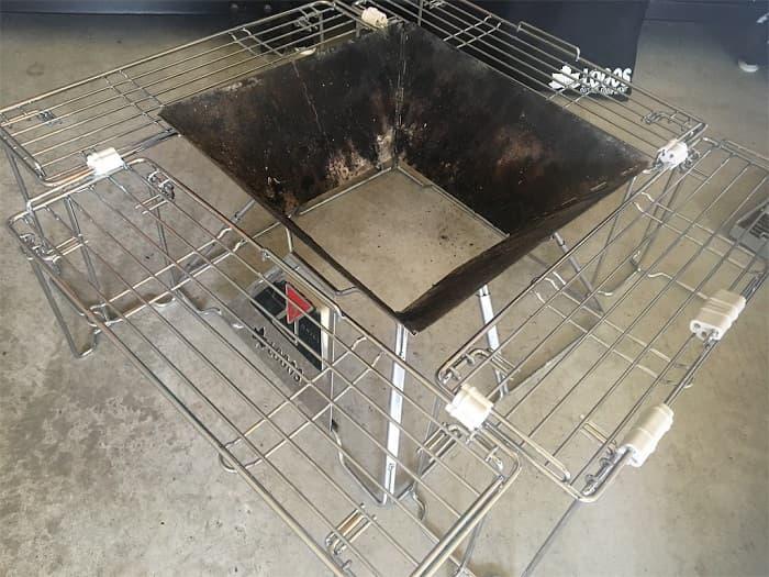 ニトリ 囲炉裏テーブル キッチンラック