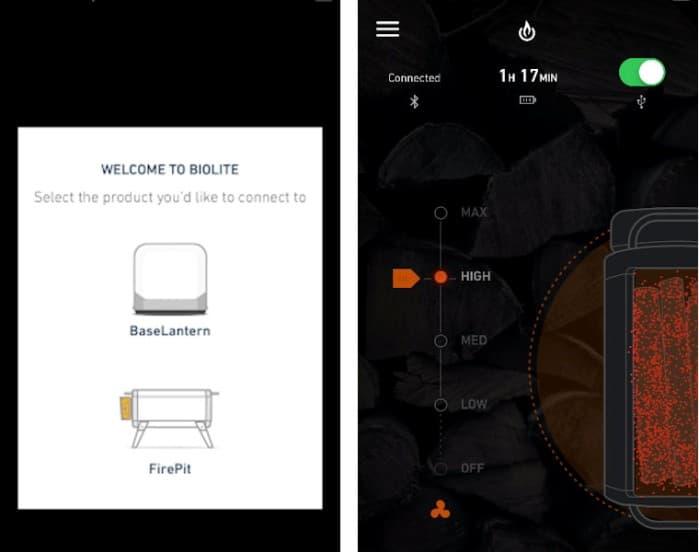 バイオライト ファイアピット アプリ