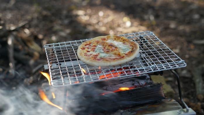 秘密のグリルちゃん ピザ