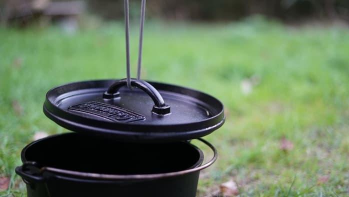 ダッジオーブン 蓋 火バサミ