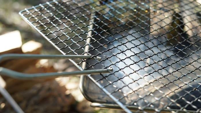 練炭ばさみ 網