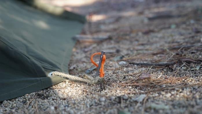 チタンペグ テント