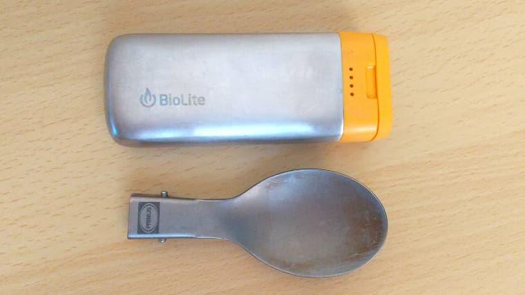 Biolite チャージ20 サイズ
