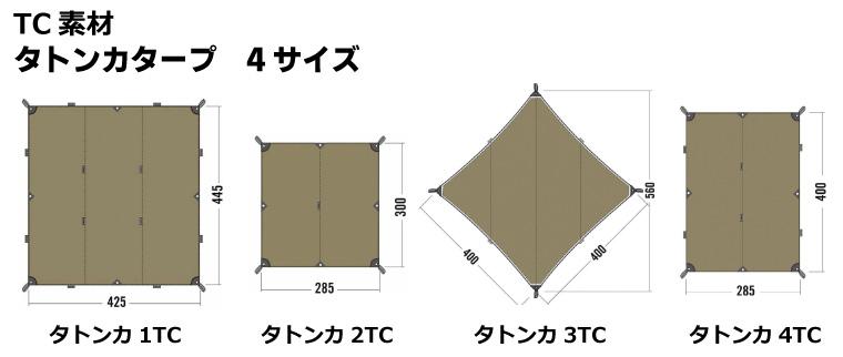 タトンカタープサイズ