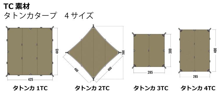 タトンカタープ種類