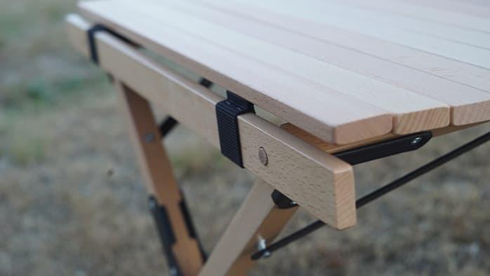 ハイランダー ウッドロールトップテーブル 組み立て