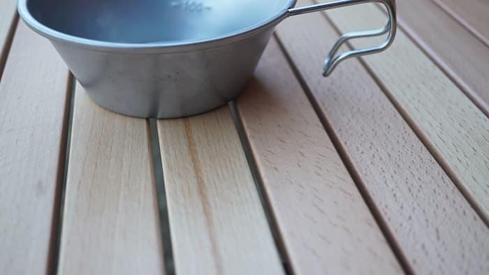 ハイランダー ウッドロールトップテーブル デメリット