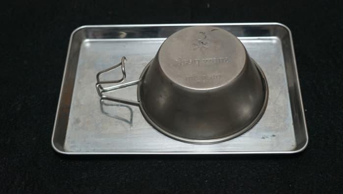 チタンシェラカップ 焼入れ