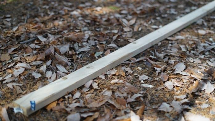 針葉樹 バトニング