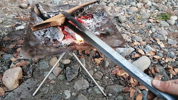 長い 火バサミ