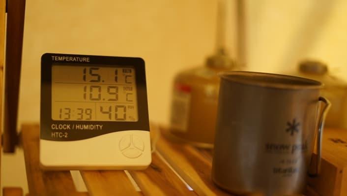キャンプ 温度計 メリット