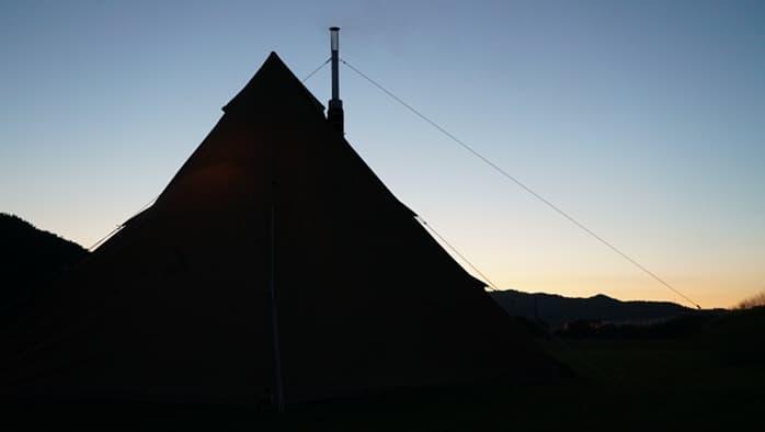 薪ストーブ キャンプ
