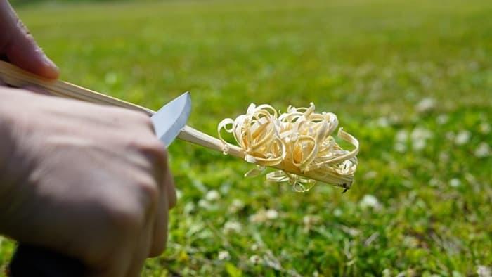フェザースティック ナイフ
