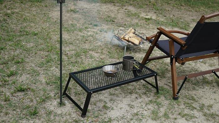 焚き火 サイドテーブル