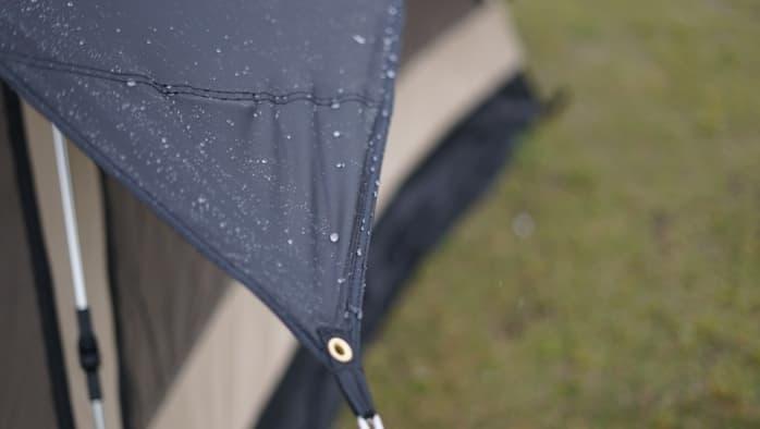 ソロキャンプ タープソロ 雨
