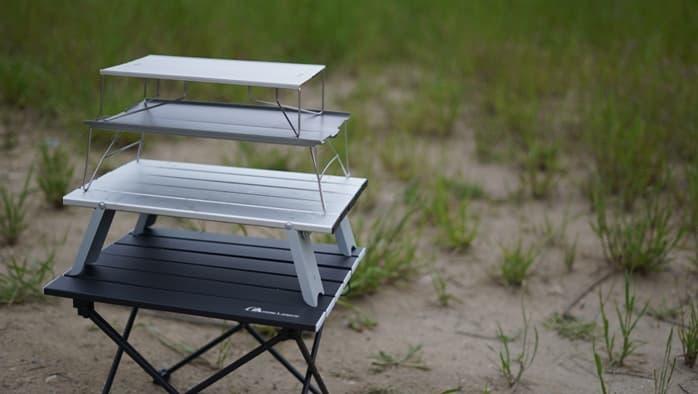 ソロキャンプに適したミニテーブルを選ぶポイント