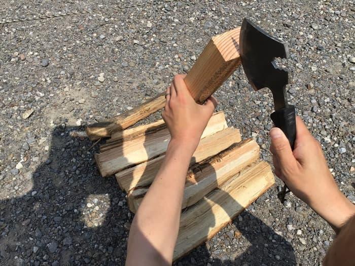 燕三条乃斧 使い方