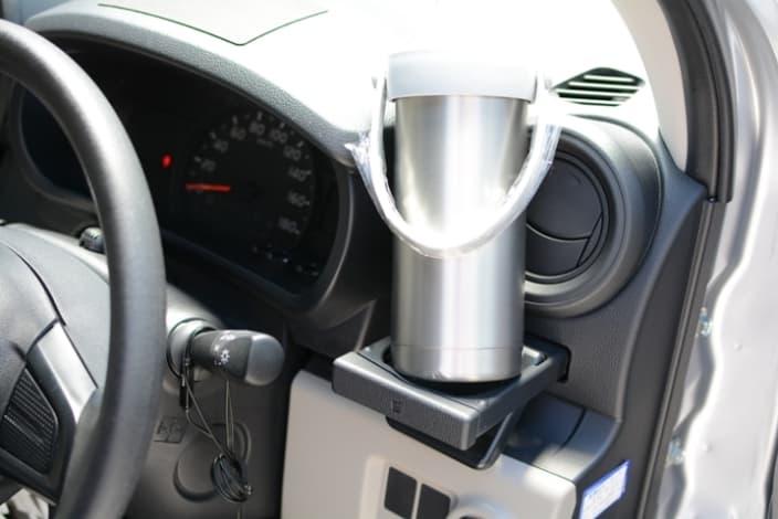 ワークマン ペットボトルホルダー 車